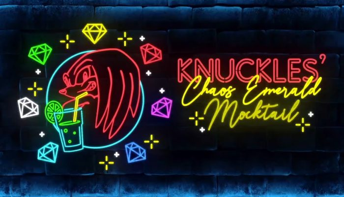 Knux Presents: Chaos Emerald Mocktails