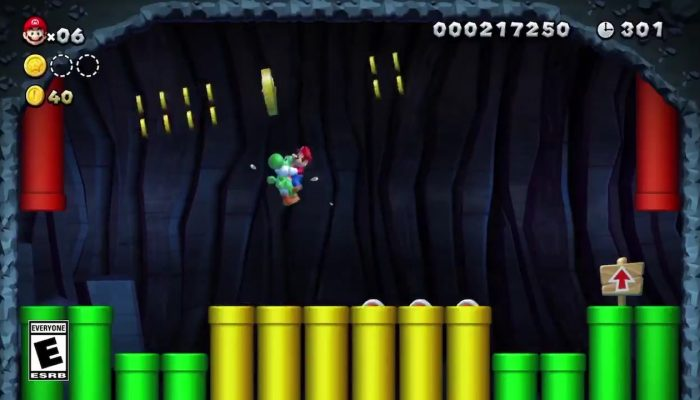 Try to collect all three Star Coins in New Super Mario Bros. U Deluxe