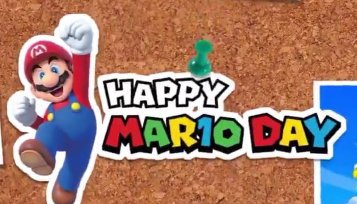 Nintendo of America wishing you a Happy MAR10 Day