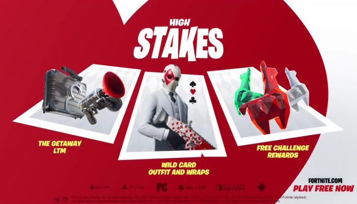 Fortnite's High Stakes event returns