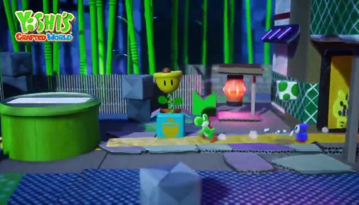 Meet the Shy Guys in Yoshi's Crafted World
