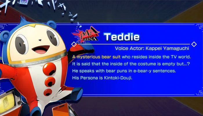 BlazBlue Cross Tag Battle – Teddie Character Introduction