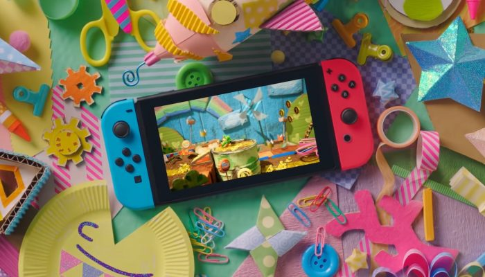 Yoshi's Crafted World – Japanese TV Commercials