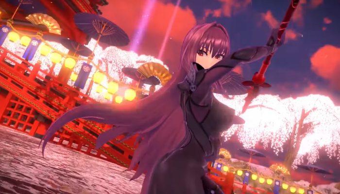 Fate/Extella Link – Arjuna, Scathach & Darius III Trailers