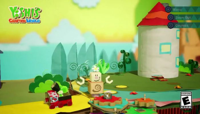 Please welcome the Blockafeller family in Yoshi's Crafted World