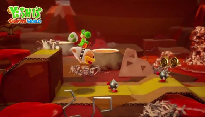 Poochy is back in Yoshi's Crafted World