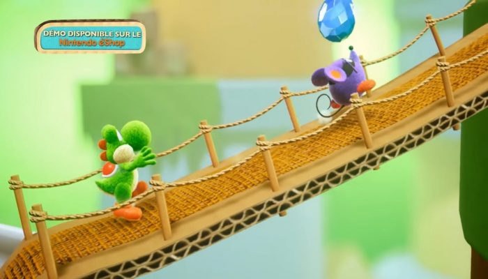 Yoshi's Crafted World – Publicité de lancement