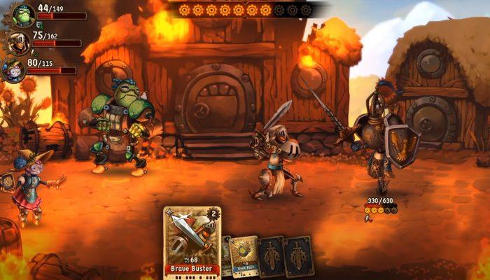 SteamWorld Quest – Boss Battle Gameplay