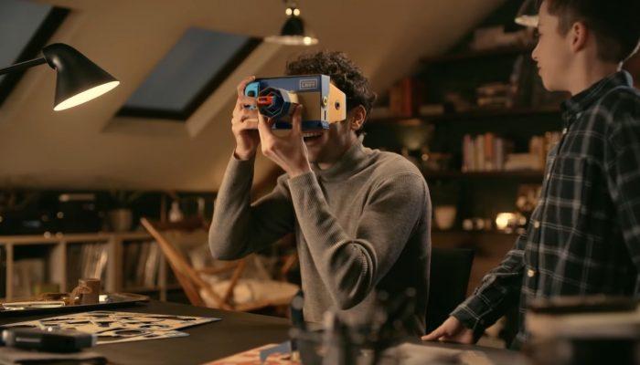 Nintendo Labo – Japanese VR Kit TV Commercial