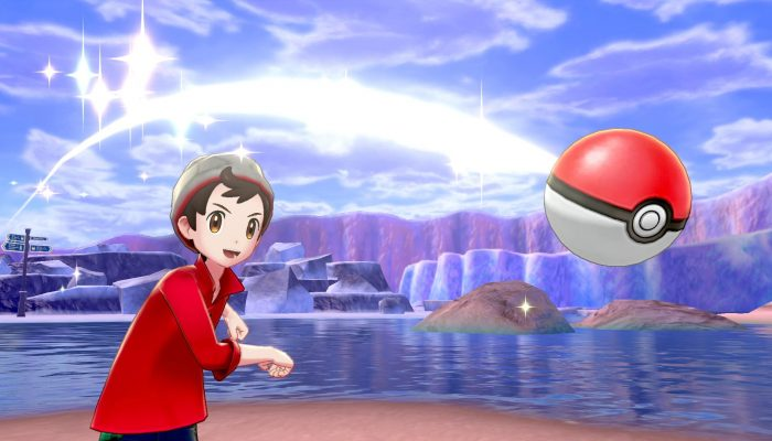 A couple more screenshots from the Pokémon Sword & Shield Direct reveal