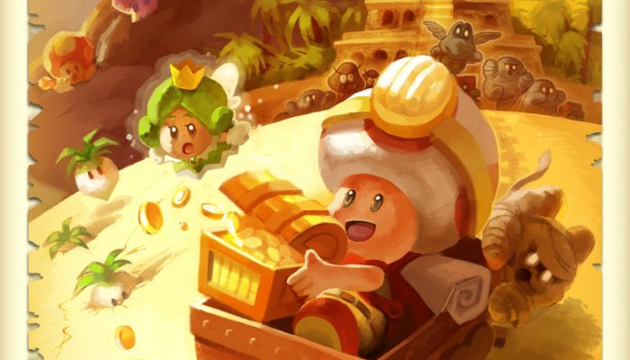 Here are some new concept art for Captain Toad Treasure Tracker