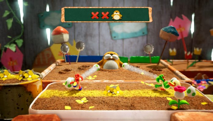 Yoshi's Crafted World looking good with new screenshots