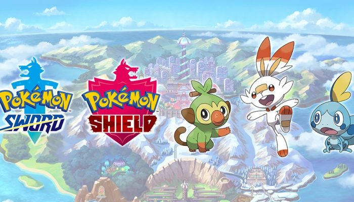 Here's how the reveal of Pokémon Sword and Pokémon Shield went down on Pokémon's Twitter
