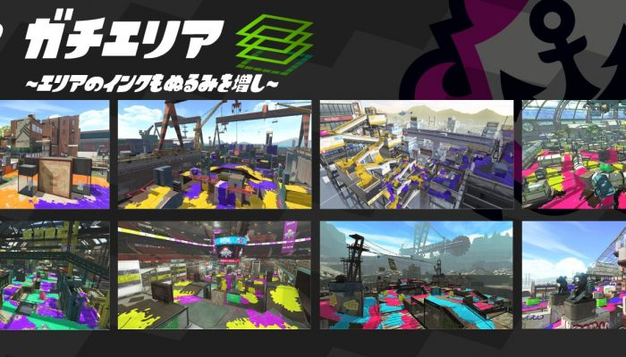 Here are the Ranked maps for March 2019 in Splatoon 2