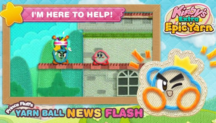 New developments in Prince Fluff's Yarn Ball News Flash