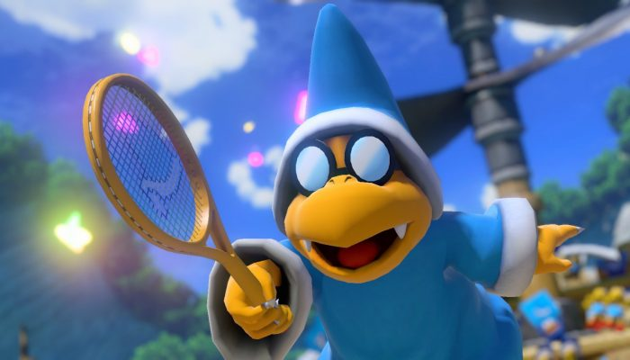 Magikoopa and Dry Bones are coming to Mario Tennis Aces