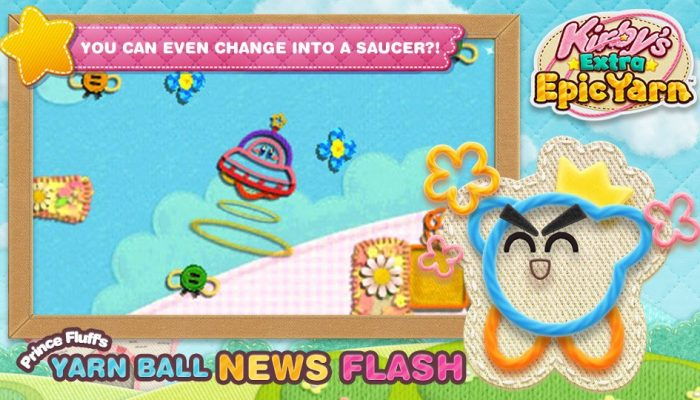 Prince Fluff's Yarn Ball News Flash says Kirby cannot inhale enemies