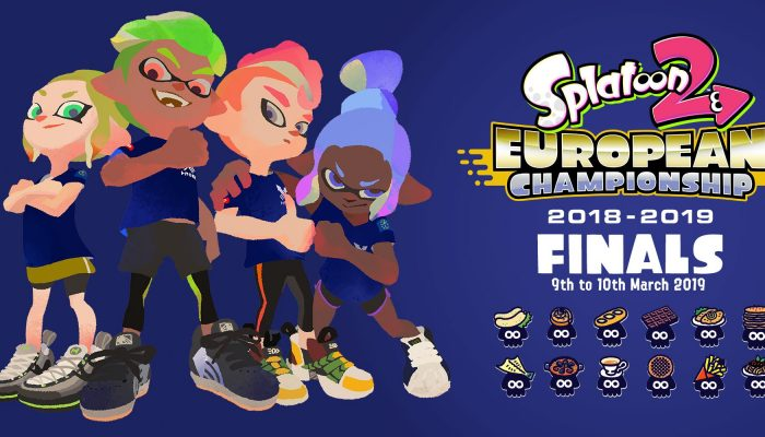 Here's the artwork for the Splatoon 2 European Championship Finals