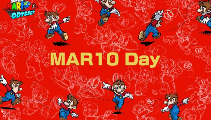 Nintendo of Europe celebrates MAR10 Day with a new artwork