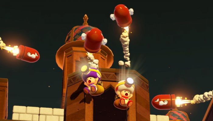 Say hi to Purple Captain Toad
