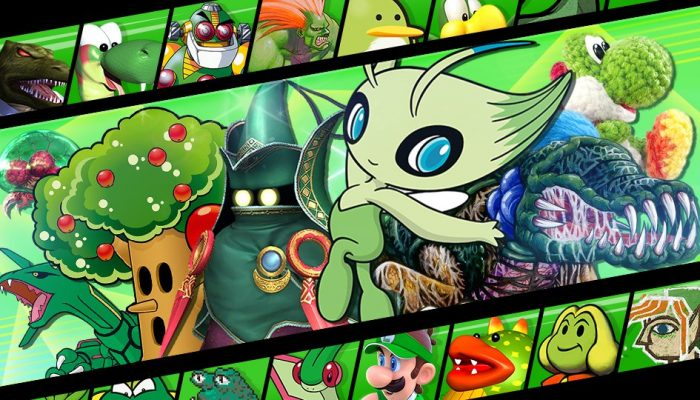 """Green Is The New Black"" Spirit Event in Super Smash Bros. Ultimate"