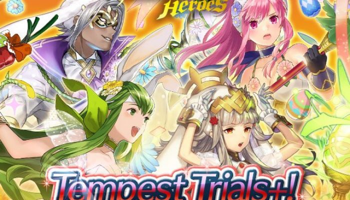 Tempest Trials+ To Defy The Gods in Fire Emblem Heroes