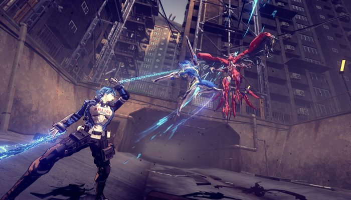 A couple of screens to keep the Astral Chain hype going