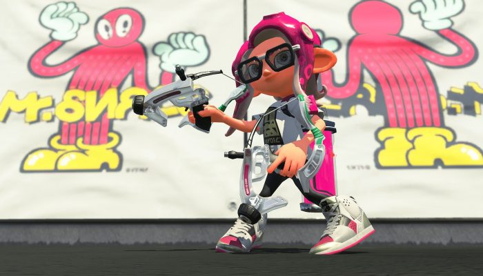 These are the Clear Dapple Dualies from the Sheldon's Pics in Splatoon 2