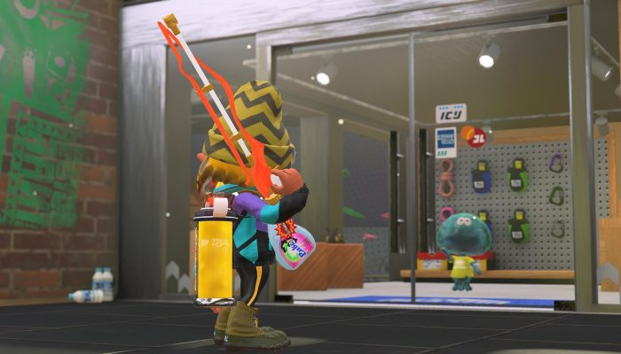 This is the Fresh Squiffer from the Sheldon's Pics in Splatoon 2