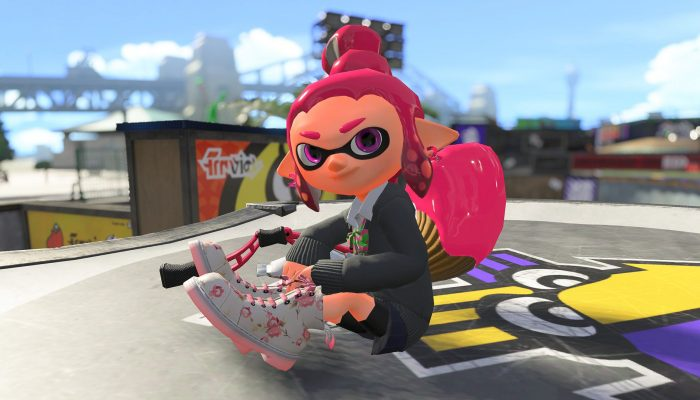 This is the Permanent Inkbrush from the Sheldon's Pics in Splatoon 2