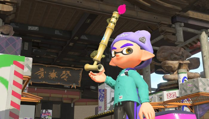 This is the Bamboozler 14 Mk III from the Sheldon's Pics in Splatoon 2