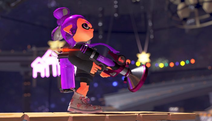 This is the Sploosh-o-matic 7 from the Sheldon's Pics in Splatoon 2