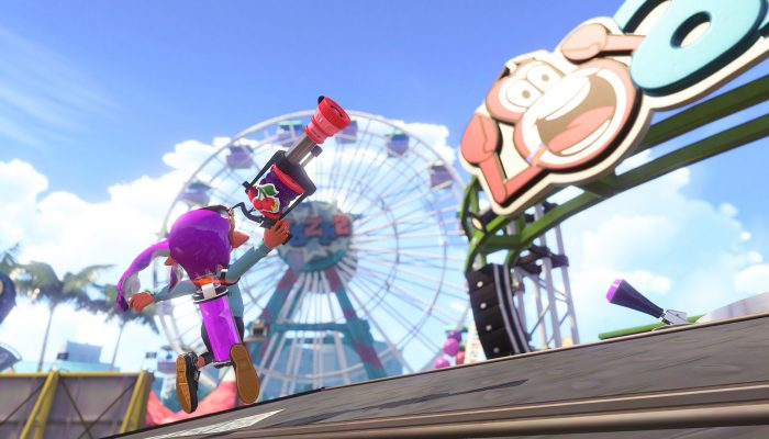 This is the Cherry H-3 Nozzlenose from the Sheldon's Pics in Splatoon 2