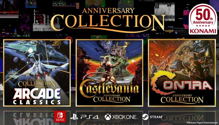 Konami 50th Anniversary Collections announced for Nintendo Switch