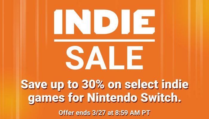 There's an indie sale on the eShop to celebrate the latest Nindies Showcase