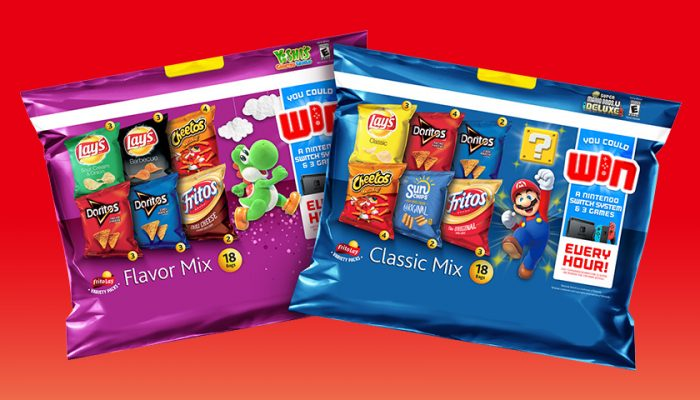 NoA: 'Nintendo Switch and Frito-Lay Variety Packs make snack time a little more super (Mario)'
