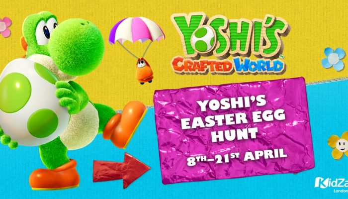 NoE: 'Embark on Yoshi's Easter Egg Hunt at KidZania London from 8th April to 21st April'