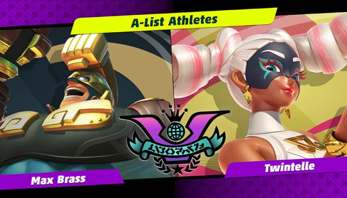 NoA: 'Twintelle and Max Brass battle for the top in the next Party Crash Bash!'