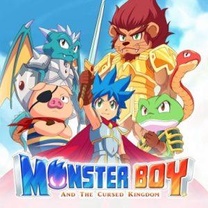 Nintendo eShop Downloads Europe Monster Boy and the Cursed Kingdom