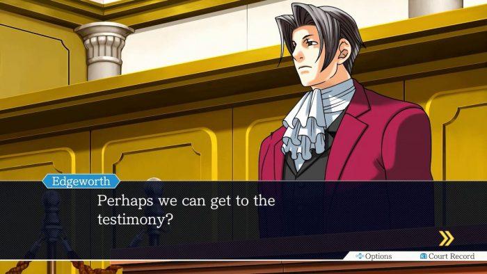 Capcom Ace Attorney Files Miles Edgeworth Perfect Prosecutor