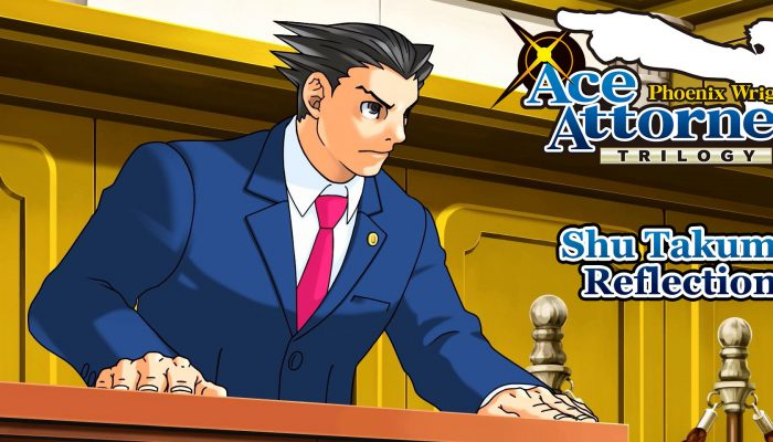 Capcom: 'Shu Takumi's Reflections on Ace Attorney'