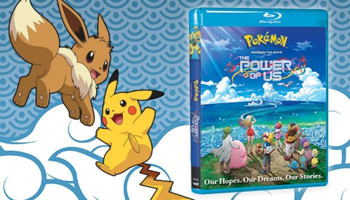 Pokémon: 'Own Pokémon the Movie: The Power of Us on Blu-ray and DVD'