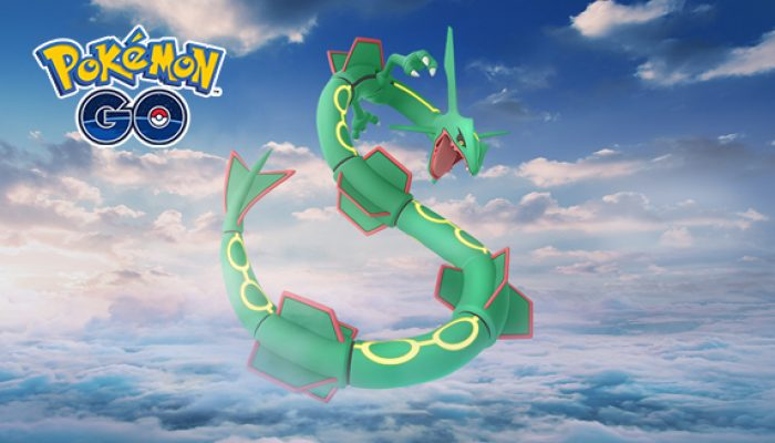 Pokémon: 'Rayquaza Returns to Pokémon Go Raid Battles'
