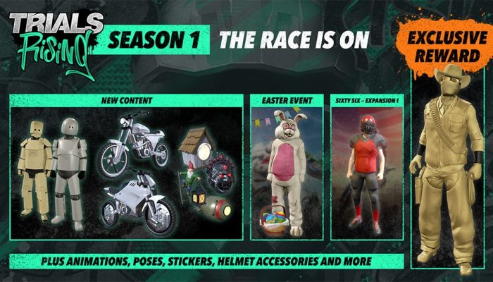 Ubisoft: 'Trials Rising Season One Starts Today, Details on New Content Revealed'