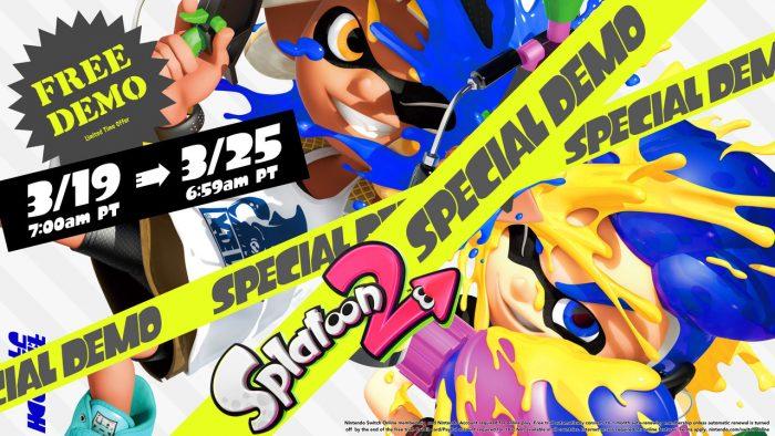 Splatoon 2 Special Demo