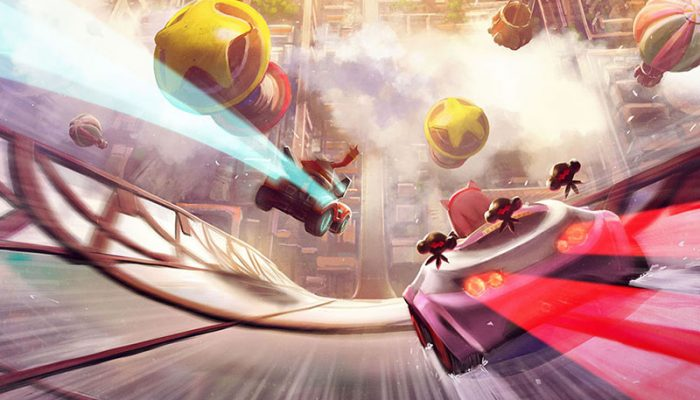 Team Sonic Racing – Japanese Wisps Art and Screenshots