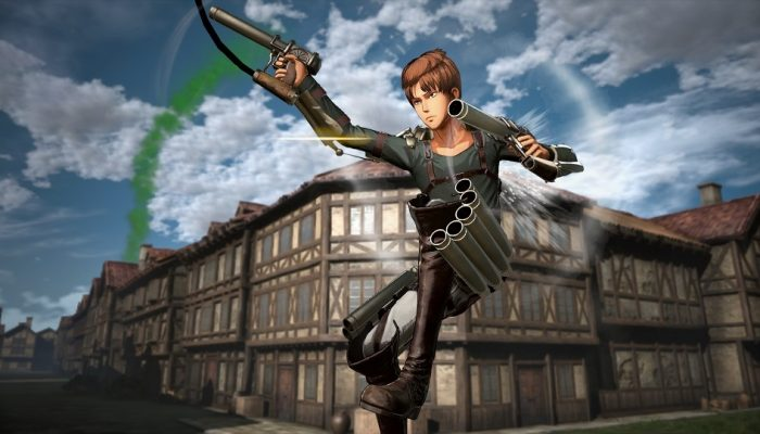 Attack on Titan 2: Final Battle – Japanese Action Scene and Other Gameplay Screenshots