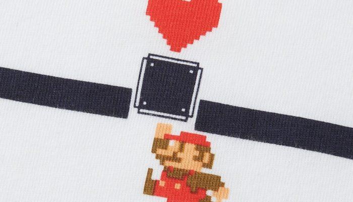 Super Mario – Pictures of Uniqlo's Super Mario Family Museum T-Shirts