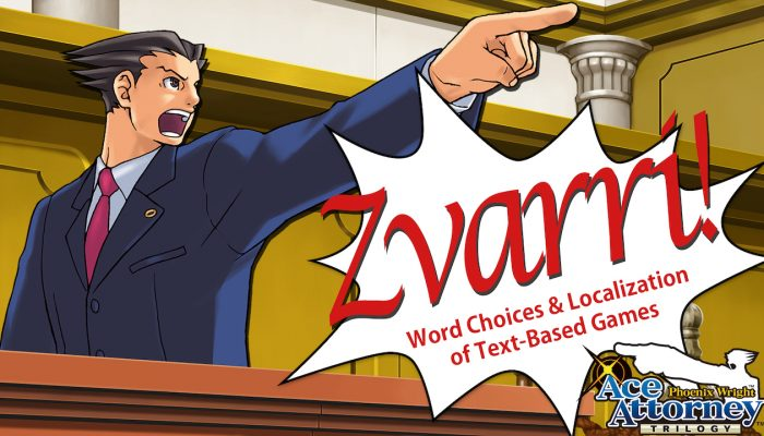 Capcom: 'Zvarri! Word Choices & Localization of Text-Based Games'