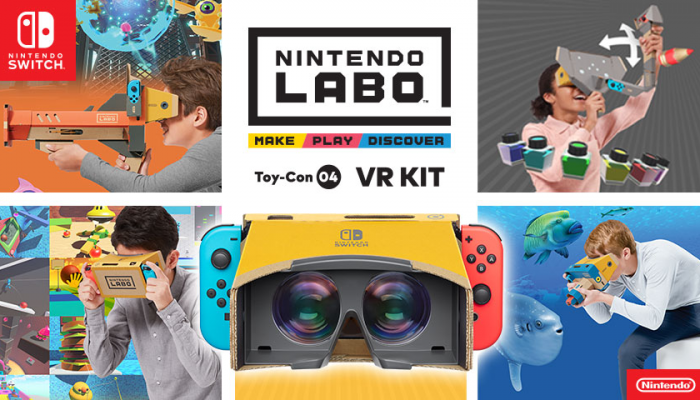 NoA: 'Experience the Nintendo Labo: VR Kit at select Best Buy stores'